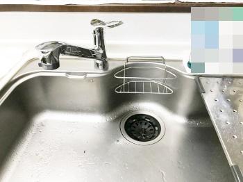 キッチン混合水栓リフォーム!よりスタイリッシュになりました。